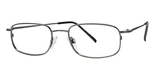 Flexon Flx 810Mag-Set Eyeglasses 033 Gunmetal Demo 53 18 145 ()