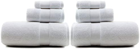 3f24c32591e5 Amazon.com  Lauren Ralph Lauren Wescott Towel 6 Piece Set Bundle Sailcloth  White - 2 Bath Towels