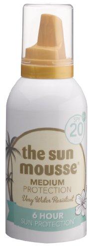 the sun mousse parfümfrei parabenfrei Sonnenschutz-Schaum LSF20, 150 ml
