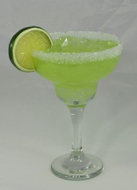 New! Fake Decorative Margarita Glass w/ - Realistic Fake Glasses