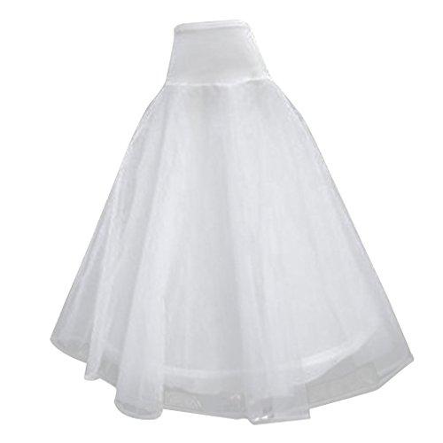 Synthetic Tutu Skirt (0022_White_Free Size)