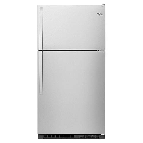 Whirlpool® 33-inch Wide Top-Freezer Refrigerator with Optional EZ Connect Icemaker Kit - 20.5 cu. ft ()