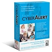 Family Cyber Alert (Version 5.05 CD+download): Parental Control & Keylogger & Internet Monitoring & Computer Monitoring & PC Monitoring & Chat Monitoring & Online Monitoring & Web Filter & Keystroke Logger & Key Logger