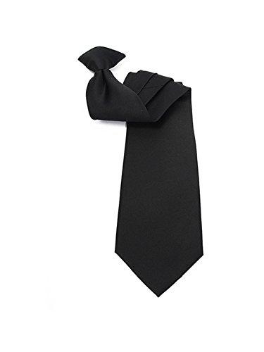 (Men's Black Solid Color 19