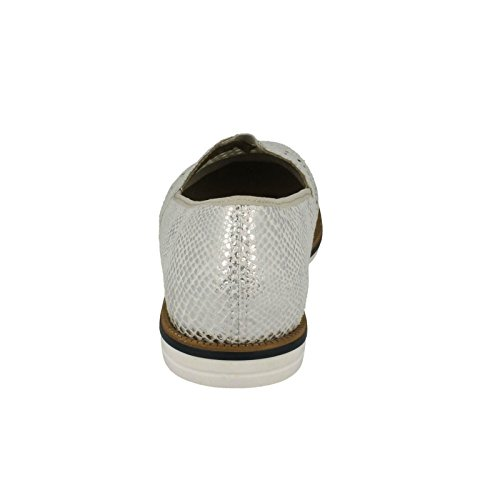 Rieker 45555 Women's Casual Slip On Shoes 80 White Combination 0KTEvT5JR