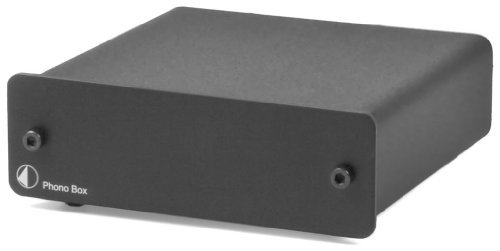 Phono Box - Pro-Ject Audio - Phono Box DC - MM/MC Phono preamp with line Output - Blk