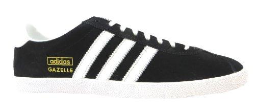 Adidas Gazelle Og - Zapatos de cordones para hombre negro negro