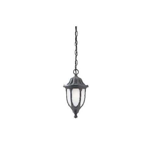 Black Wrought Iron Pendant Light in Florida - 8