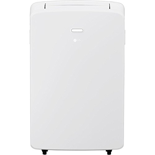 LG LP1017WSR 115V Portable Air Conditioner with Remote Control in White for Rooms up to 250-Sq. Ft. Renewed