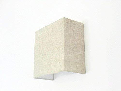 Applique murale carrée lin cm luminaire idée cadeau