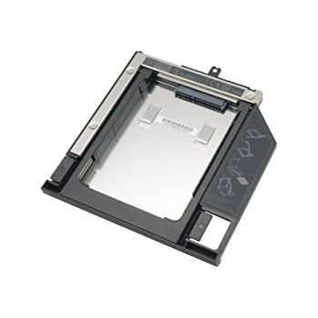 DEEPFOX 2.5-inch Hard Drive Caddy Tray Replacement 9.5MM 2nd HDD SSD Enclosure for Lenovo Thinkpad T440p T540p W540 W541 with Matched Bezel//Faceplate