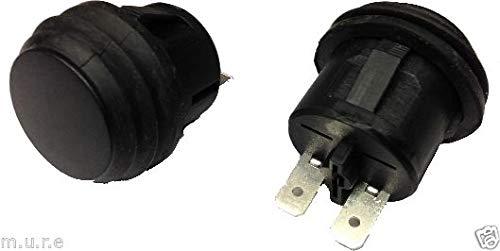 12V Non Illuminated On//Off Latching Push Switch With Splash Proof Seal K480 ROBINSON