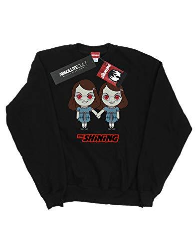 Negro Shining Cult Camisa Mujer De Medium Entrenamiento Absolute Chibi The Twins B6ZqWwE14z