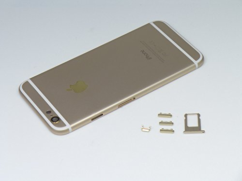 Housing Back Door Cover + Mid Frame Assembly iPhone 6S 4.7 (Gold) ()