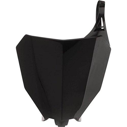 Acerbis 2630680001 Front Number Plate - Black