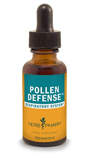 Herb Pharm Pollen Defense Liquid Herbal Formula for Respiratory System Support - 1 Ounce - Eyebright Nettle Compound