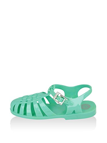 GIOSEPPO zapatos de mujer sandalias planas 40714-47 PASTEAD Aguamarina