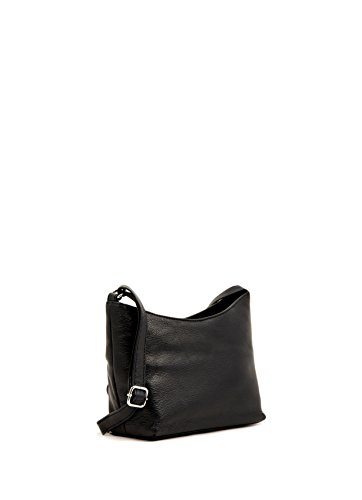 Navy Soft Bag Shoulder Strap with Ladies Adjustable Closure Small Black Leather Top Classic Black Red and Ivory Zip pZwEfqH