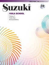 Suzuki Viola School Revised Edition Book & CD Volume 2
