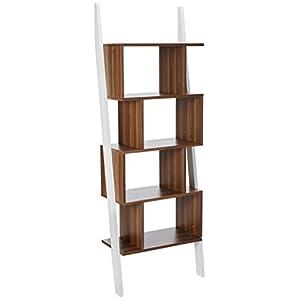 247SHOPATHOME Yahara Bookcase, Walnut