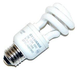 Mini Twist 7w (Dulux Electronic 7 Watt Mini Twist Compact Fluorescent Bulb)