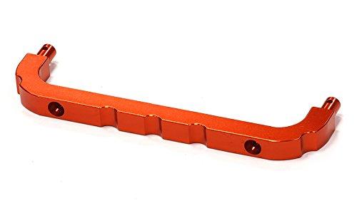 Integy RC Model Hop-ups BAJ291ORANGE Billet Machined Roll Cage Front Mount for HPI Baja 5B2.0, 5T & ()