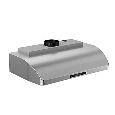 ZLINE 30 in. 900 CFM Under Cabinet Range Hood in Stainless Steel (621-30)
