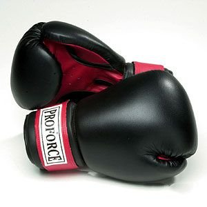 ProForce Leatherette Boxing Gloves Palm product image
