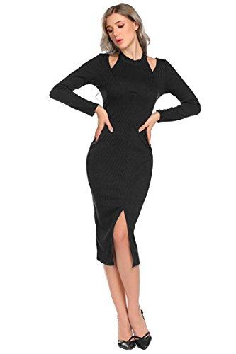 knit halter dresses - 8