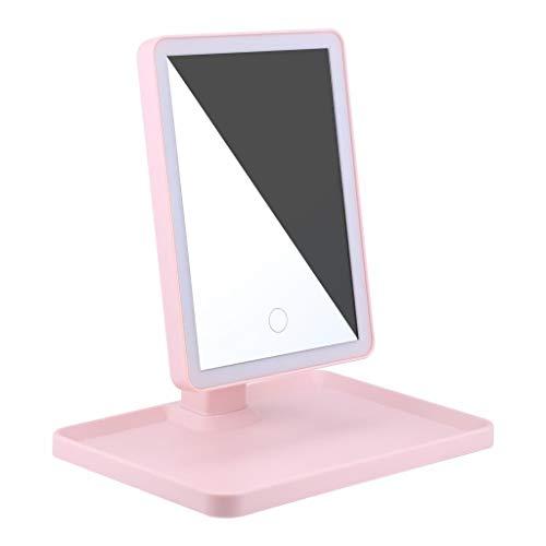 Rape flower_Makeup Mirror with Natural White LED Daylight Detachable/Storage Base Control 36 (Lipstick Little Minerals Kisses)