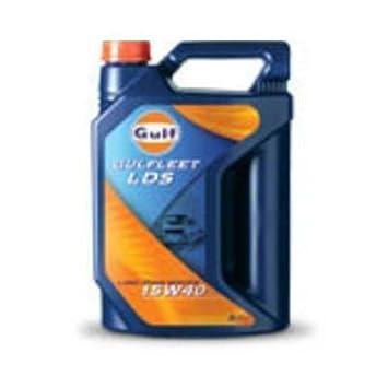 Aceite lubricante coche Gulfleet LDS 15W40 5 litros. Aceite lubricante de motor para coche. Marca: Gulfl: Amazon.es: Coche y moto