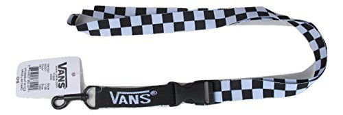 Vans Off The Wall Lanyard - Black/White Checker -