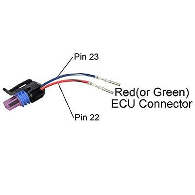 "ICT Billet Transmission Wire Adapter Harness 4L60E to 4L80E 18"" with VSS Connector OEM Color TXL LS1 LM7 LQ4 5.3 4.8 LR4 LS6 L59 LQ9 LM4 L33 WATRA30-18: Automotive"
