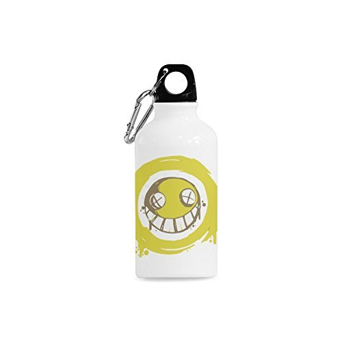 [Junkrat Smiley 13.5 Oz Aluminum Sports Water Bottle Travel Mug Tea Cup] (Recycled Material Costume)