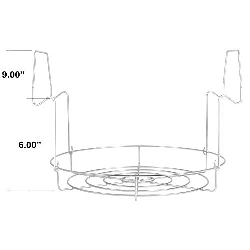 Stainless Steel Canning Rack, Flat, by VICTORIO VKP1056 by Victorio (Image #7)