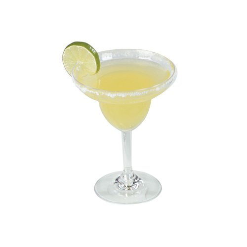 Carlisle 4362407 Liberty 9.5 Oz. Plastic Margarita Glass - 24 / CS by Carlisle