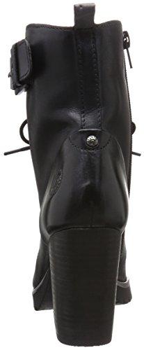 100 Women Bugatti Boots V76381 Ankle schwarz black PY68qzwd