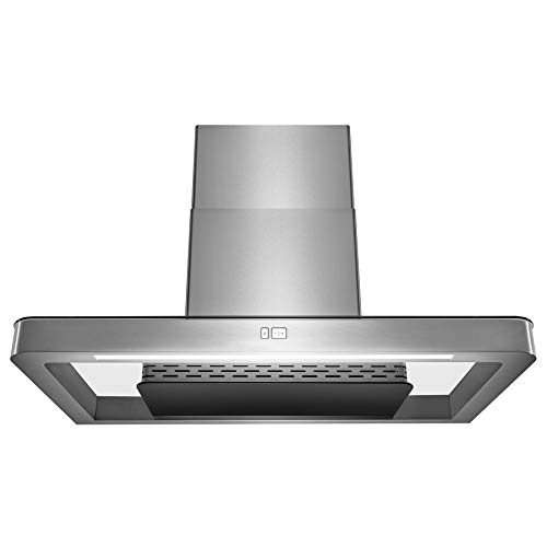"AKDY Wall Mount Range Hood –36"" Stainless-Steel Hood Fan"