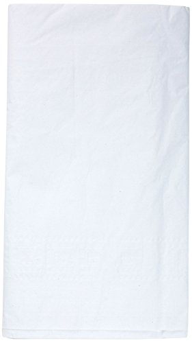 - Creative Converting Paper Banquet Table Cover, White