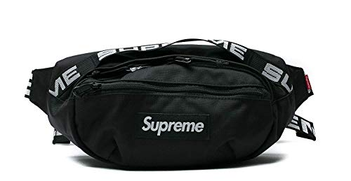 The Mass Fanny Pack New Spu Waist-Bag Travel Bum Bags Running Pocket for Men Women(Black)