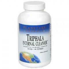 Triphala by Planetary Ayurvedics 500mg, Gentle Cleanser for GI Tract Wellness, 120Cap