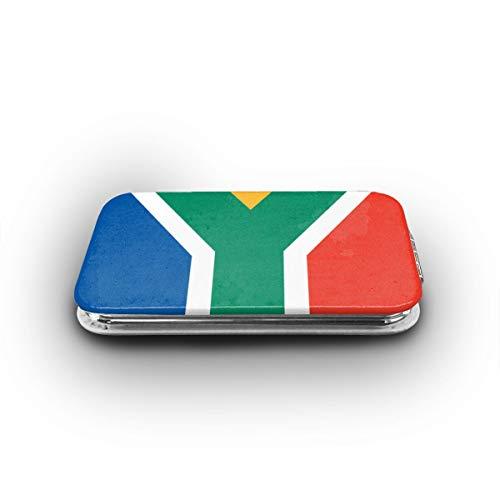 Cookfun South Africa Flag Makeup Mirror Mini Pocket Mirror -