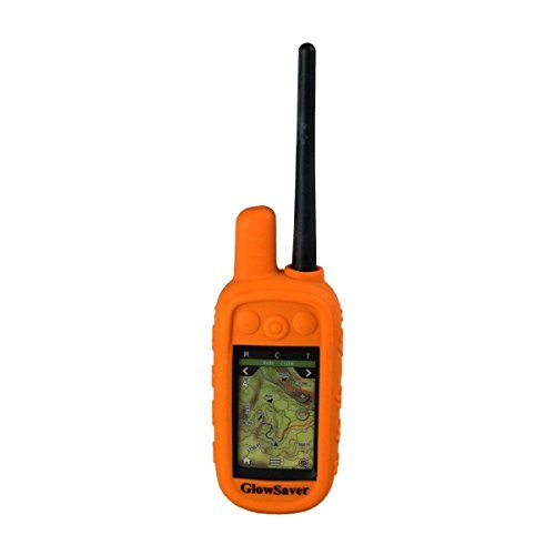 The Buzzards Roost GlowSaver Case for Garmin Alpha with Screen Protectors - Bright Orange