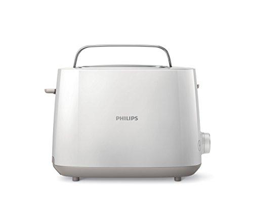 Philips Daily Collection HD2581/00 Tostapane con 8 Impostazioni e Griglia Scaldabriosche Integrata, Bianco 2