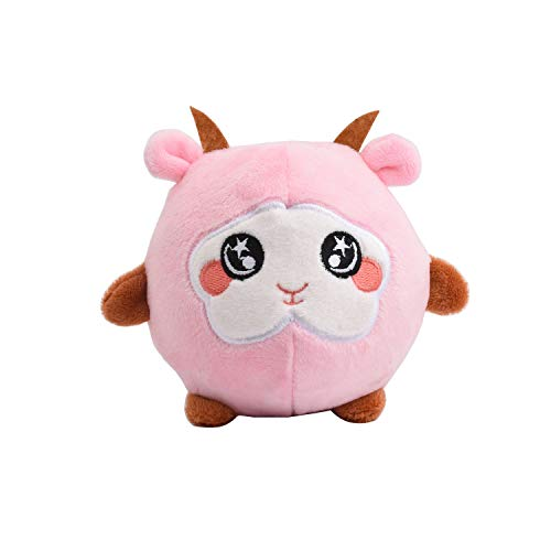 Squeezamals - 3.9 Plush Squeezable Sheep Pink Vent Toys Squishamals Super Squishy Foamed Stuffed Animal Claw Cute Lovely Soft Adorable