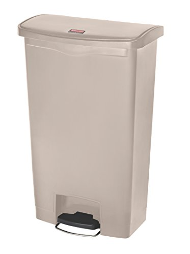 (Rubbermaid Commercial Products Slim Jim Step-On Plastic Trash/Garbage Cans)