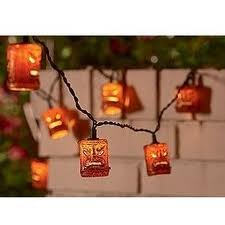 Bamboo Patio Lights String in US - 4