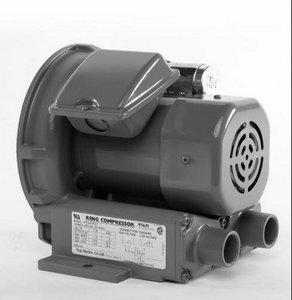 Regenerative Blower, 0.11 HP, 19.5 CFM
