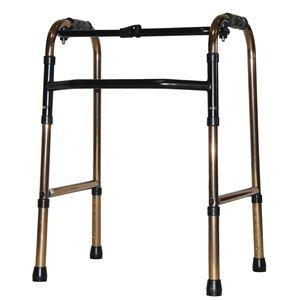 アクションジャパン 歩行器 折りたたみ式歩行器 標準タイプ ブロンズ C2021【非課税】 B075Z42NLR