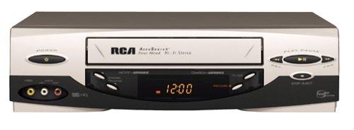 amazon com rca vr661hf 4 head hi fi vcr silver electronics rh amazon com RCA Universal Remote Manual Codes RCA Remote Control Instruction Manual